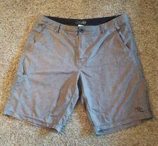 Da Hui Men's Hybrid Shorts Sz 36 Brown Surf Outdoor Hiking Camping Activewear FF