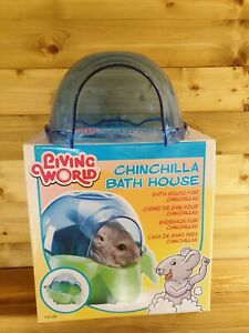 Living World Chinchilla Bath House Spare Top Only
