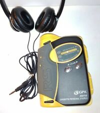 Rugged Sports Am/Fm Radio Cassette Personal Stereo & Flashlight with Headphones