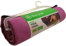 Gaiam Yoga Towel Non Slip Microfiber Full Size Purple New