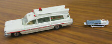 VINTAGE DINKY TOYS/MECCANO AMBULANCE WITH PATIENT. GREAT COND. COLLECTIBLE