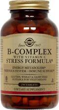B-Complex With C Stress Solgar 250 Tabs