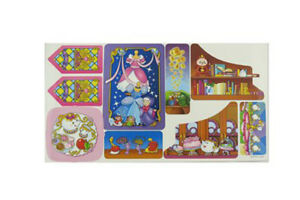 Disney Princess Musical Dancing Palace By Little People Replacement Labels CGT78