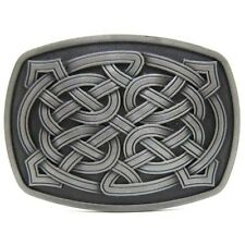 Mens Vintage Western Irish Celtic Knot Gothic Hippie Medieval Style Belt Buckle