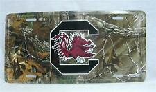 South Carolina Gamecocks Camo Car Truck Vanity Tag License Plate Football USC