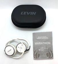 New listing Levin Marathon2 Bluethooth Neckband Wireless Sports Headsphones White