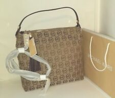 NWT Michael Kors Bedford HandBag LG SHLDR- Color: BG/BE/MOCHA