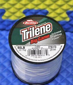 Berkley Trilene Big Game Clear 1/4 LB Spools Mono. BGQS CHOOSE YOUR LINE WEIGHT