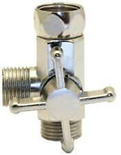 Deviatore di flusso acqua per asta colonna doccia in ottone cromato 1/2-1/2-1/2
