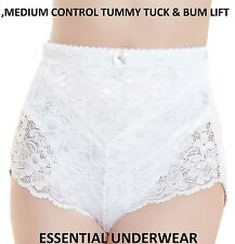 LACE TUMMY TUCK & BUM LIFT MEDIUM CONTROL SLIMMING SHAPEWEAR KNICKER BEAUFORME