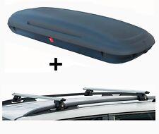 vdpca480 Caja de techo 480l Aspecto Carbono + barras vdpcrv120 Peugeot Partner I