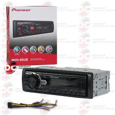 PIONEER DIN MVH-85UB CAR MP3 USB AUX AM FM MECHLESS DIGITAL MEDIA RECEIVER RADIO