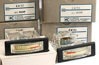 Kyoritsu Japan vintage NOS VU Meter EW-50 1.734V EXT 3K6 for compressor
