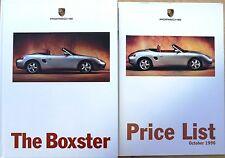 Porsche, Boxster Sales Brochure and Price list