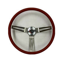 1967 1968 Chevy Impala Comfort Grip Red Steering Wheel Kit