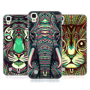 HEAD CASE DESIGNS AZTEC ANIMAL FACES 2 BACK CASE & WALLPAPER FOR LG PHONES 2