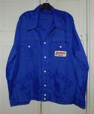 NEAT JACQUES FEED AND SEED WIND BREAKER BLUE JACKET