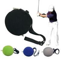 Golf Training Ball Outdoor Portable Smart Tour Striker Swing Aid Adjustable  New