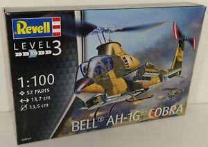 Revell 1/100 Bell AH-1G Cobra US Army Model Kit Plastic