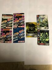 Bakugan Battle Ball Brawlers Original Japanese 7 Cards Death Land Fear Ripper