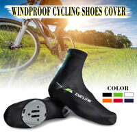 Bicycle Breathable Dustproof Shoe Covers Bike Cycling Riiding Zippered Overshoes