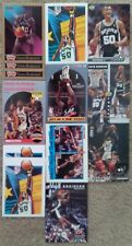Lot of 10 Different David Robinson Cards - 1990-1996 - 14 Cards Total