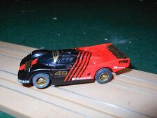 TYCO NOS PORSCHE TURBO Red/Black #49  BRAND NEW Aurora Model Motoring AFX TOMY