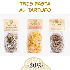 TRIS PASTA SECCA - Tagliatelle all'Uovo e Tartufo Bianco - Strangozzi misti