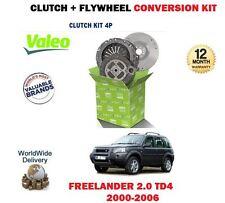 Per LAND ROVER FREELANDER 2.0 TD4 1999 - > NUOVO Volano + Frizione Kit Di Conversione