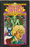 RARE: Make Your Own Adventure with Doctor Who: Invasion of the Ormazoids.