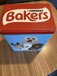 Purina Bakers Dog Biscuit Tin