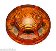 "10EA PF24LM AMBER PORTABLE 24 LED's POWER FLARE ""POWER-MARKERS"" W/ MAGNETIC BASE"
