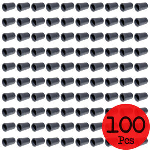 Lot of 100 PCS. Sch 80 PVC 1/2 Inch Straight Coupling Socket Connect