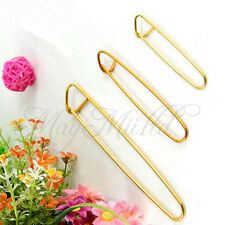 3 pcs Aluminum Knit Knitting Needles Stitch Holders Size S M L Crochet Hooks OV