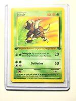 PINSIR - 25/64 - 1st Edition Jungle - Rare - Pokemon Card -  NM