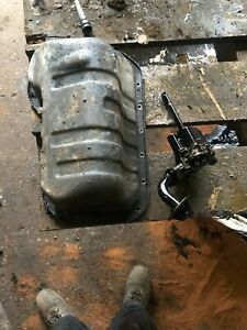 VW T4 TRANSPORTER 1999 1.9 TD ABL ENGINE OIL SUMP AND PICKUP PIPE