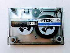 "TDK DC-6150 150MB 1/4"" Data Tape Cartridge 620ft QIC 120"