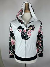 Womans Size S Never To Old For Mickey Zip Up Hoodie W57