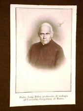 Padre Luigi Billot nel 1911 Professore di Teologia Università Gregoriana di Roma