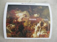 Guyana Delacroix art painting MS2  I201802