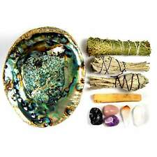 House Blessing Kit - Crystal and Smudge Stick Bundle