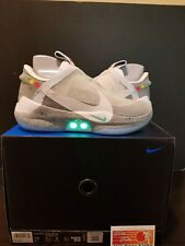 DS NIKE BB ADAPT WOLF GREY AIR MAG QS SIZE 7.5 IN-HAND SHIPS TODAY W/ RECEIPT