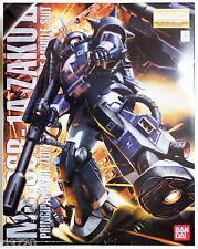 Bandai MG 523730 Gundam MS-06R Zaku II Black Tri-Stars ver.2.0 1/100 scale kit