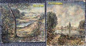 Oil Paintings by Victor Mathias