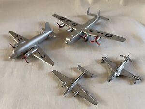 VINTAGE DIECAST DINKY TOYS LOCKHEED T33 RAF VICKERS VIKING AVRO YORK Bf110 A/F