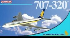 DRAGON 55809 SINGAPORE AIRLINES 707-320 1/400 DIECAST MODEL PLANE NEW