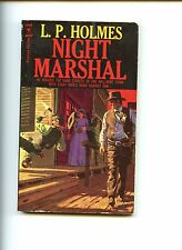 NIGHT MARSHAL,   L.P.HOLMES   1st  SB,  western