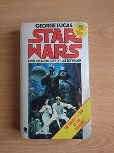 Star Wars A New Hope Novelisation VO Publié en 1977 avec 10 pages couleurs.