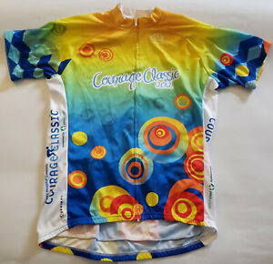 Courage Classic Colorado 2012 Cycling Jersey Mens XL