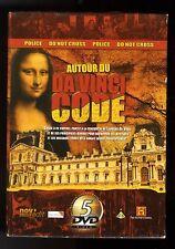 AUTOUR DU DA VINCI CODE    COFFRET 5  DVD    HISTORY CHANNEL   ZONE 2